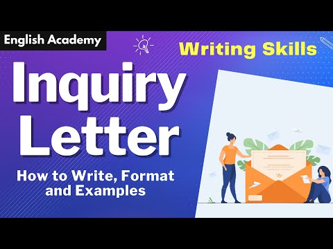 How to write Inquiry letter ? |  CBSE NCERT |  Format and example of Letter of enquiry