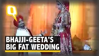 Watch Insider Visuals of Harbhajan Singh and Geeta Basra's Wedding