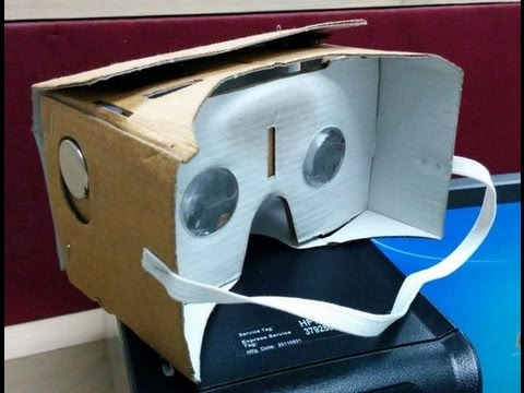 Google Cardboard - Inexpensive Virtual Reality