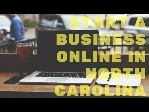 Start A Business (LLC) Online in North Carolina | NC's New Online Process