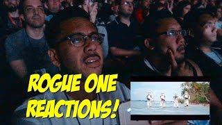 Star Wars Celebration Rogue One Trailer Reel Reaction!!