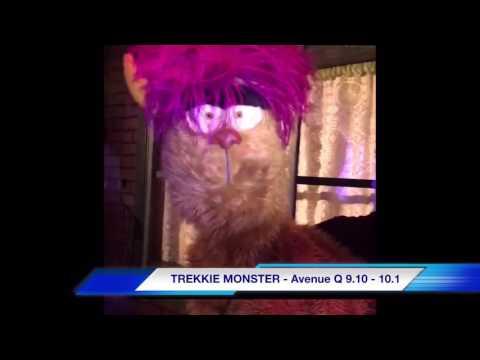 Interview with Trekkie Monster at The Noel S. Ruiz Theatre