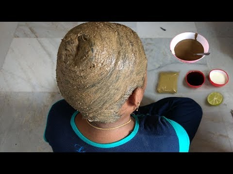 DIY | Best home remedies for strong & healthy hair | Henna hair dye to get darker hair color | T.F.