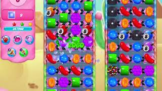 Candy Crush Saga Level 3027 No Boosters (19 Moves)
