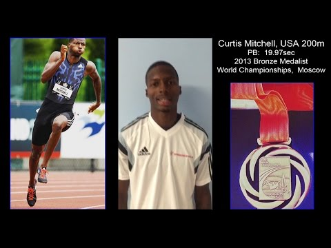 Run faster with Curtis Mitchell