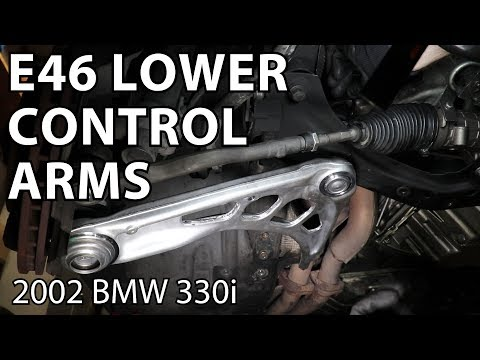 BMW E46 Front Lower Control Arm Replacement