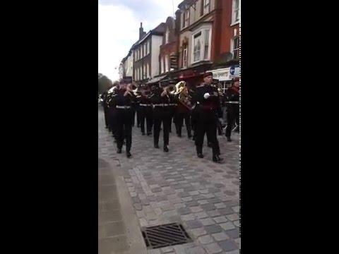 Royal Anglian Regiment Parade - 14 April 2016