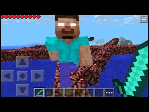 Herobrine Added in Minecraft pe 15.1 ?? | MCPE ( pocket edition ) | how to spawn herobrine