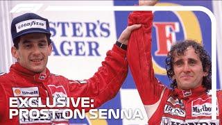 Alain Prost's Memories of Ayrton Senna