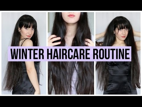 NATURAL WINTER HAIRCARE | Get Long  & Healthy Hair FAST!