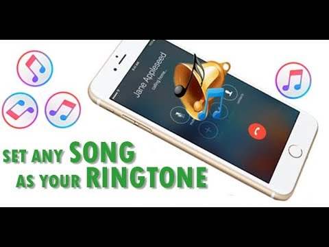 How To Set Any Song As An iPhone Ringtone Without iTunes | Set An Iphone Song As Ringtone