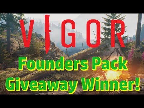 Vigor Founders Pack Winner!