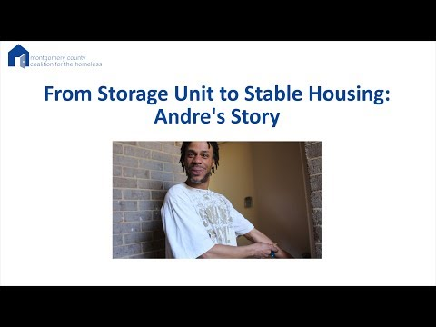 From Storage Units to Stable Housing: Andre's Story