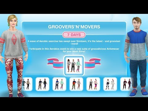 Simsfreeplay -  Groovers 'N' Movers Hobby Event