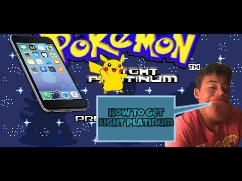 How to get Pokémon light platinum iOS,Android(GBA)