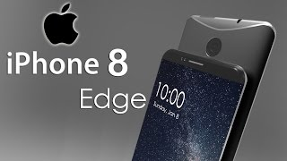 iPhone 8 Edge Realistic Render with Dual Edge Water Proof Design & Forged Steel Frame