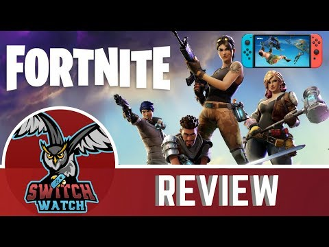 Fortnite Nintendo Switch Review-(Voice Chat Now Enabled And Tested)
