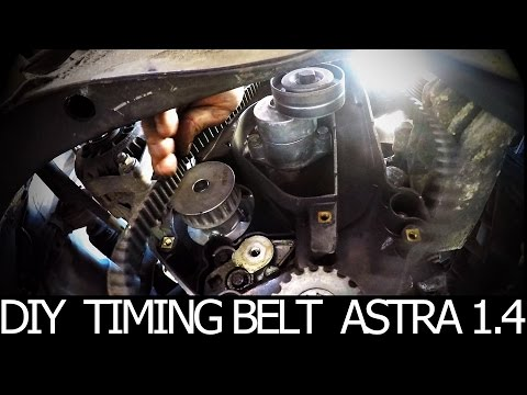 How to Replace a Timing belt and Water pump Yourself Opel
