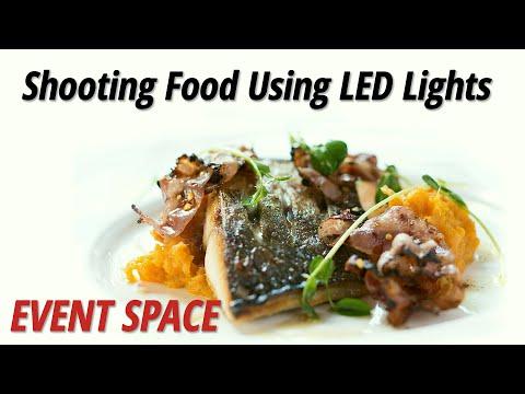 Shooting Food Using LED Lights