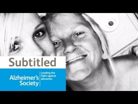 Early onset vascular dementia - A daughter's perspective - My mum has dementia (subtitled)