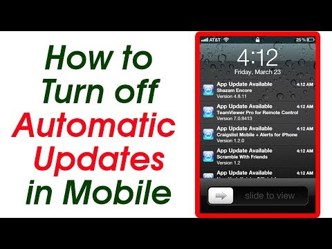 [Hindi] How to turn off automatic updates of apps on mobile?