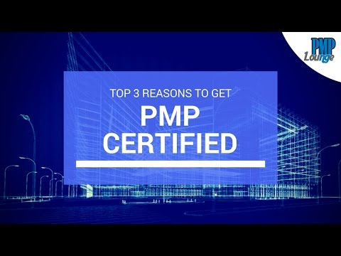Top 3 reasons to get PMP certified