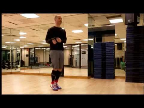 Jump rope like a boxer