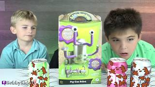 HAIRY Helps Find Surprise TOYS with HobbyBear! We Play Science with HobbyKids