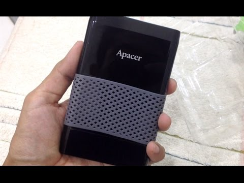 HDD Apacer AC231 Unboxing