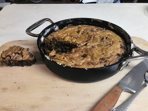 One-Pan Chocolate Chip Skillet Cookie