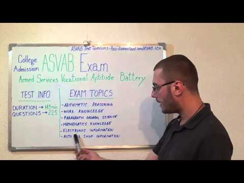 ASVAB Test Questions Exam PDF Answers