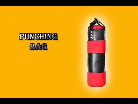 How to make a punching bag/Homemade Boxer Pear