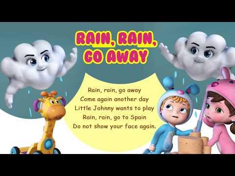 Rain Rain Go Away | Nursery Rhymes & Baby Rhymes for Kids | Infobells