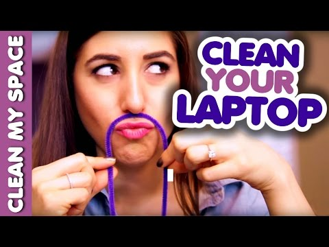 How to Clean a Laptop (Clean My Space)