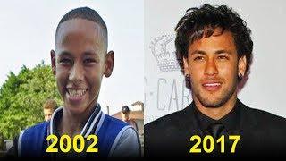 Neymar jr - Transformação de 1 a 25 anos