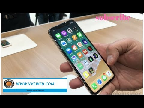Unboxing & Hands-On iPhone X