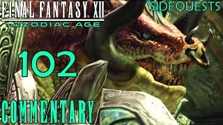 Final Fantasy XII The Zodiac Age Walkthrough Part 102 - Humbaba Mistant Boss Battle