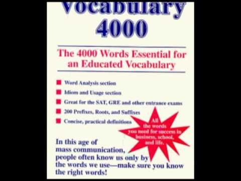 English Vocabulary of 4999 words vol.2 (use cc)