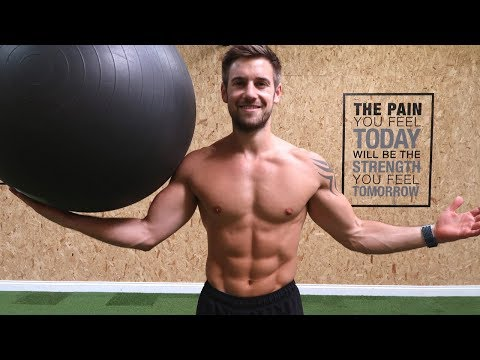 10 BEST Exercises with a Gym Ball