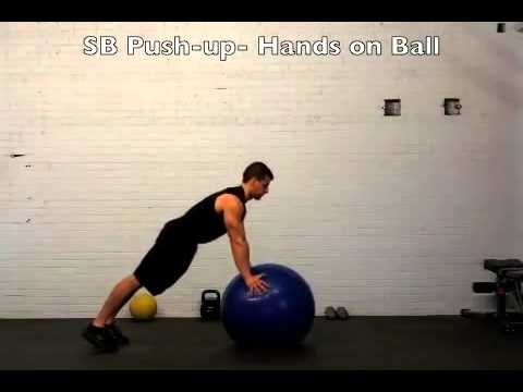 Saint Patricks Day Ladder Interval Workout Using a Stability Ball
