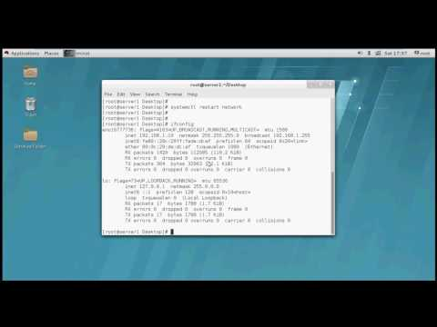 Configure ip address in linux - Red hat 7