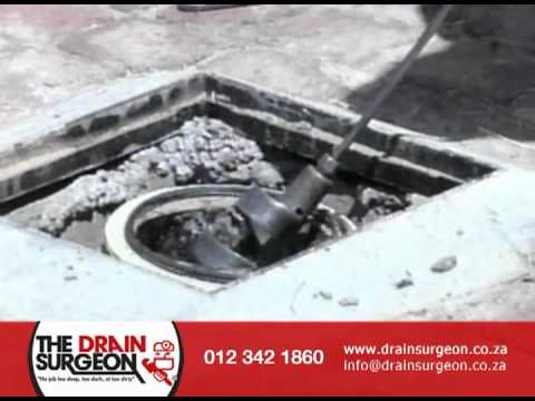 How to unblock drain pipes