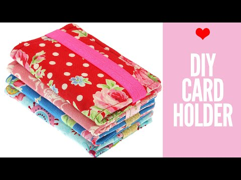 {DIY} Card holder, Business Card Holder, Gift Card Holder