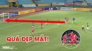 Geovane lập siêu phẩm chân trái vào lưới Hà Nội FC, Quang Hải nghĩ gì trên khán đài? | NEXT SPORTS