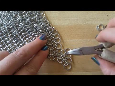 How to Weave a Chainmaille Bra