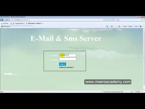 Email Server website in asp.net c#