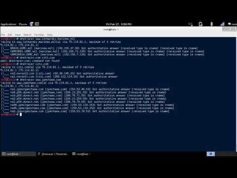 DNSTracer - Determine the Primary DNS Server for a Domain Name [Kali Linux]