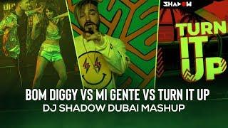 Bom Diggy vs Mi Gente vs DJ Turn It Up | Mashup | DJ Shadow Dubai | Zack Knight x Jasmin Walia