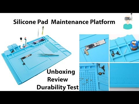 Silicone Pad  Maintenance Platform with Magnetic Section Unboxing And Review