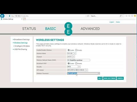 Web admin interface of the EE Bright Box Wireless Router. How do you turn off wifi?